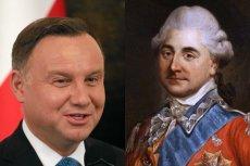 Czy Andrzej Duda przywdzieje Łańcuch Orderu Orła Białego? Nosił go między innymi Stanisław August Poniatowski, ostatni król Polski.