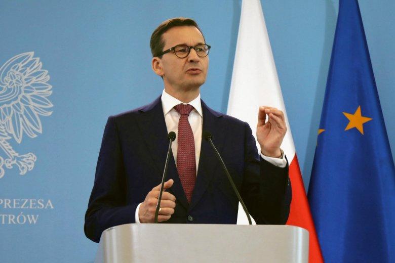 Premier Mateusz Morawiecki opowiedział na konferencji prasowej o rozdzielności majątkowej w jego małżeństwie.