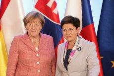 Szydło swoje, Merkel swoje. Po tej wypowiedzi kanclerz, premier nie będzie spała spokojnie.