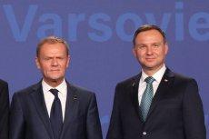 Nowy sondaż: Andrzej Duda pokonałby Donalda Tuska w wyborach prezydenckich.