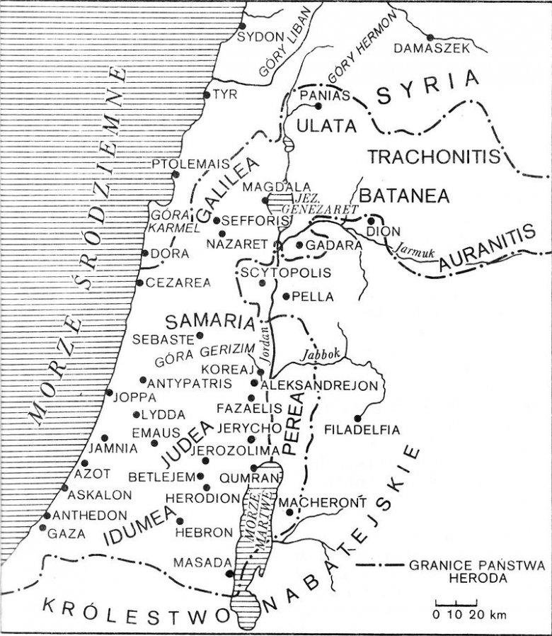 Judea za czasów Heroda Wielkiego.