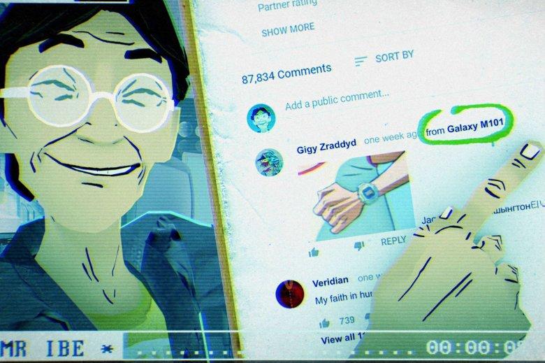 Choć inżynier Kikuo Ibe został porwany do rzeczywistości wirtualnej, to nie przestał się uśmiechać