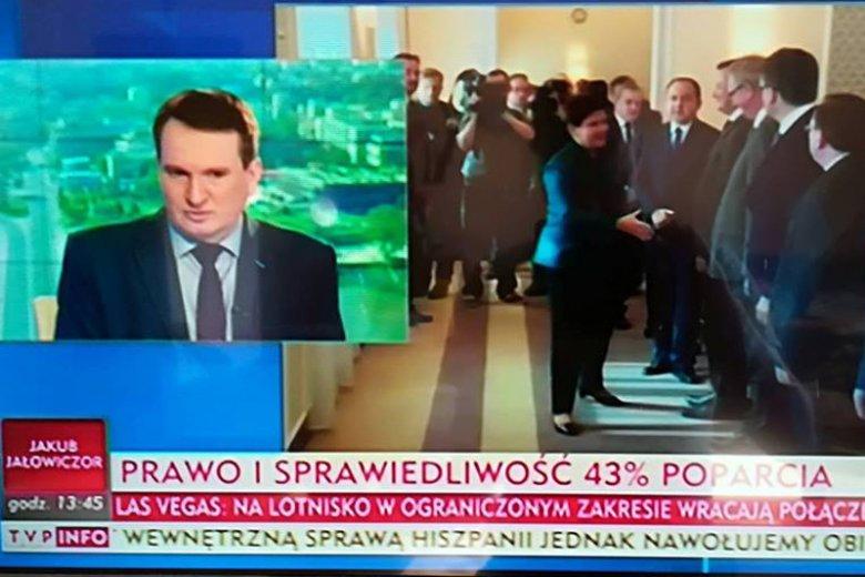 Roman Mańka komentuje w TVP najważniejsze wydarzenia polityczne