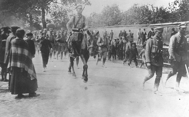 I Kompania Kadrowa w Kielcach, 12 VIII 1914.