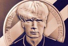 Grzegorz Ciechowski na srebrnej monecie kolekcjonerskiej, Narodowy Bank Polski