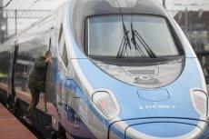 Jeden z pociągów Pendolino został pomalowany przez grafficiarzy