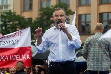 Andrzej Duda wypowiedział się pogardliwie o części mieszkańców Krakowa.