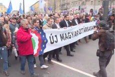 Na ulicach Budapesztu co jakiś czas powtarzają się manifestacje przeciwko rządom Viktora Orbana.