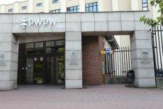 Siedziba Polskiej Wytwórni Papierów Wartościowych w Warszawie.