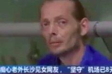 Pieter Cirk czekał na ukochaną przez 10 dni. W końcu został zabrany do szpitala.