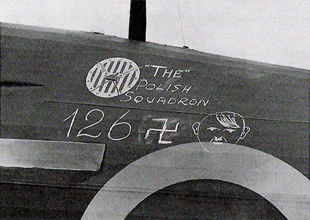 """""""126 Adolfów"""" zestrzelonych przez Dywizjon 303 w Bitwie o Anglię."""