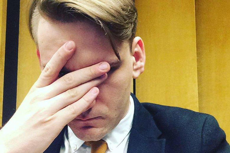 Publicysta Jakub Dymek miał otrzymać maila,  w którym szantażowano go, że może zostać polską twarzą akcji #metoo.