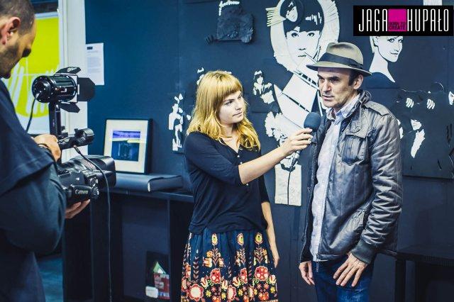 Paul Bargetto podczas wywiadu dla modnewlosy.pl