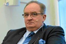 Wiceprzewodniczący Europejskiej Partii Ludowej Jacek Saryusz-Wolski.