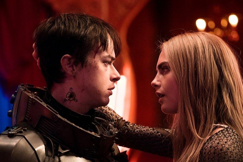 Główni bohaterowie: major Valerian (Dane DeHaan) i sierżant Laureline (Cara Delevingne)