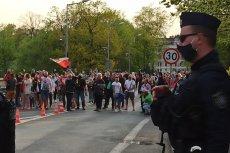 Manifestacja w Zgorzelcu. Protesty odbyły się w wielu miejscowościach przygranicznych.