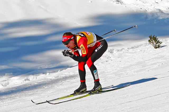 Justyna Kowalczyk nie awansowała do półfinału sprintu, ale w Canmore nie powiedziała jeszcze ostatniego słowa. Jutro bieg łączony na 15 km.