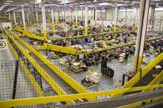 26 listopada rusza Cyber Monday, dzień wielkich wyprzedaży i promocji na całym świecie. Na zdjęciu centrum logistyczne Amazon w podwrocławskich Bielanach