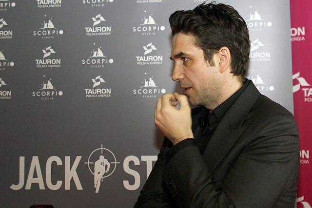 Marcin Dorociński pokazuje się, gdy np. promuje film ze swoim udziałem