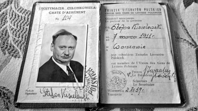 Legitymacja Związku Literatów Polskich