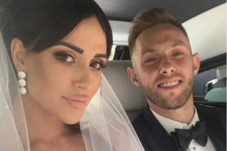 Piłkarz wziął drugi ślub, tym razem w Polsce.