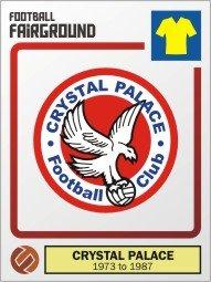 Herb Crystal Palace po dodaniu Orła nad Kryształowym Pałacem