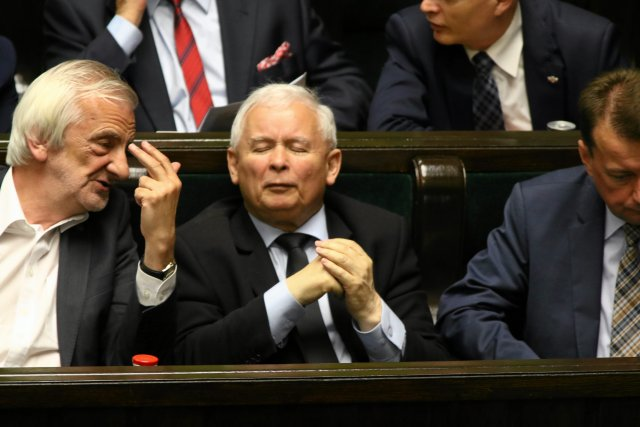Prezes Kaczyński stwierdził, że politycy zamordowali mu brata.