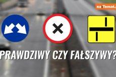 Zapytaliśmy warszawiaków, czy rozpoznają znaki drogowe. A Wy wiecie, który jest prawdziwy? #BeGood