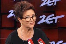 """Jolanta Kwaśniewska podczas rozmowy w programie """"Gość Radia Zet"""" oceniła postawę Agaty Dudy."""