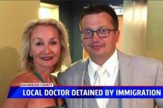 Lekarz polskiego pochodzenia mieszkający w USA od 40 lat, został zatrzymany i grozi mu deportacja.