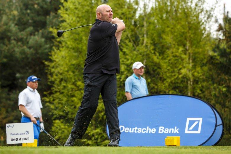 Szymon Ziółkowski podczas turnieju Deutsche Bank Polish Masters