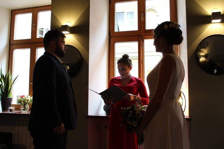 Ola i Bartek wzięli ślub w ulubionej kawiarni