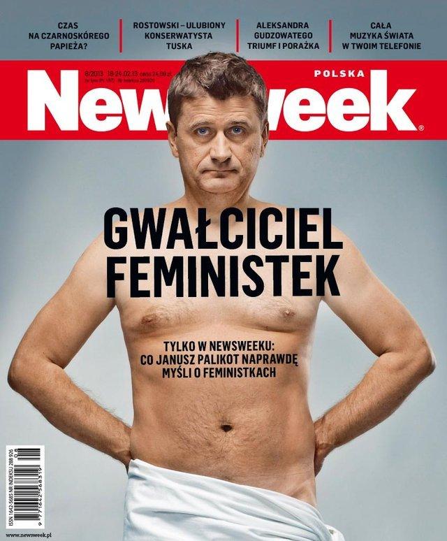"""Okładka najnowszego numeru """"Newsweeka"""""""