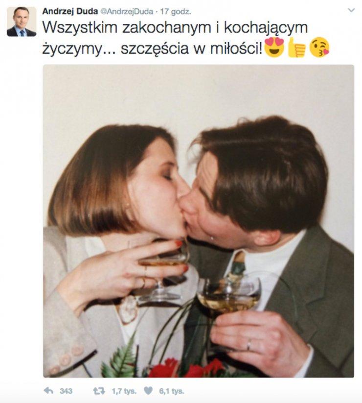 Prezydent lubi komunikować się z Polakami za pośrednictwem internetu.