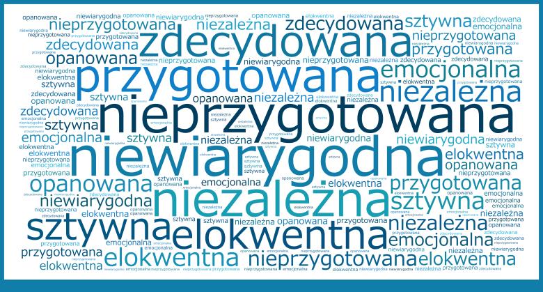 Najczęstsze określenia premier Ewy Kopacz przez Internautów