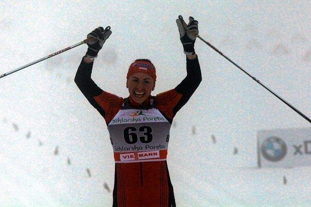 Na swojej ulubionej trasie Justyna Kowalczyk okazała się bezkonkurencyjna.
