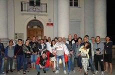 Wczoraj przed sądem w Sierpcu zgromadziła się już spora grupa protestujących ludzi.