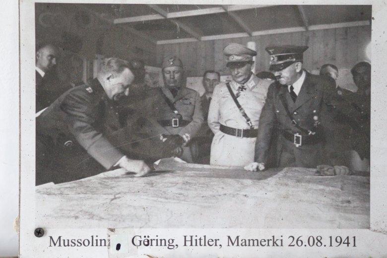Zdjęcie ze zbiorów Bartłomieja Plebańczyka prezentowane w Muzeum II Wojny Światowej w Mamerkach.