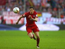 Robert Lewandowski strzelił pierwszą bramkę w meczu rewanżowym z Realem Madryt.