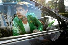 Wicepremier Beata Szydło tłumaczy się z ostatniej stłuczki.