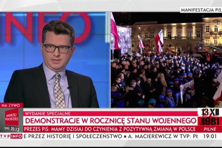 Marcin Wojciechowski dopytywał się gdzie PiS tego dnia ukrył Piotrowicza.