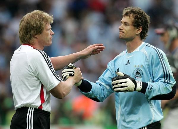 Kahn i Lehmann w czasie mundialu 2006