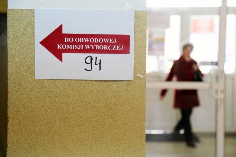 Do incydentu doszło w warszawskim lokalu wyborczym