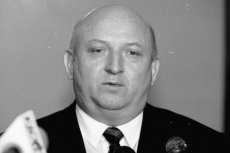 Józef Oleksy w styczniu 1996 roku