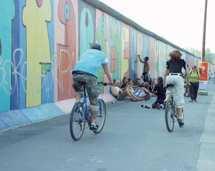Berlin, szlak muru berlińskiego