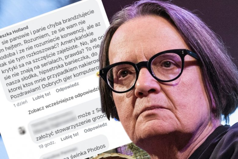 Agnieszka Holland zrobiła typowy błąd, jaki twórcy mogą popełnić po premierze. Sprawdzwiła recenzje swojego serialu 1983 na Facebooku.