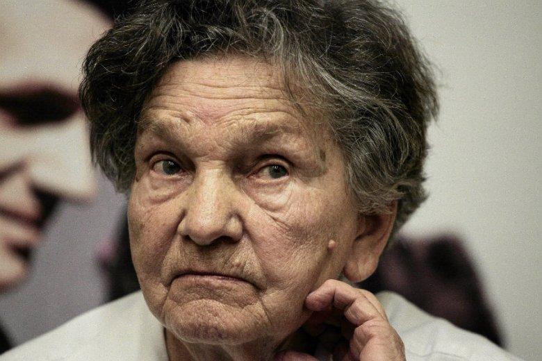 Wanda Traczyk-Stawska nie została wpuszczona do Sejmu, gdzie protestują niepełnosprawni i ich rodziny.