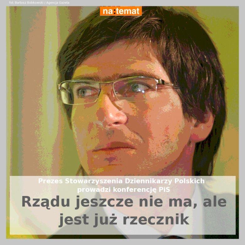 Krzysztof Skowroński, prezes Stowarzyszenia Dziennikarzy Polskich
