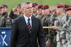 Minister obrony Tomasz Siemoniak chce, by polscy żołnierze zostali w Afganistanie do końca roku