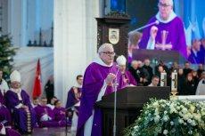 O. Ludwik Wiśniewski wygłosił mocne przemówienie podczas pogrzebu Pawła Adamowicza.